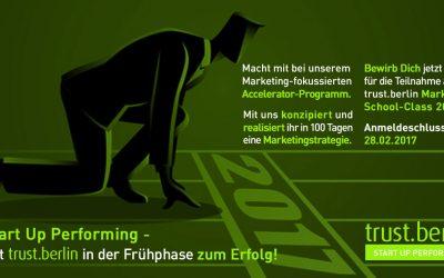Neue Partnerschaft: trust.berlin